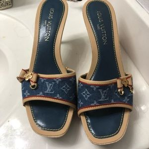 Louis Vuitton Shoes - 3in heels